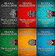 Das Mega OUTLANDER Set!  Band 1-6  von Diana Gabaldon