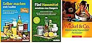 Selber machen statt kaufen - Küche & Fünf Hausmittel ersetzen eine Drogerie & Wickel und Co  - im Bundle