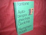 Fontane, Theodor: Nymphenburger Taschenbuch-Ausgabe . - München : Nymphenburger Verlagshandl.