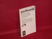 Psychosozial . - Gießen : Teil:   Jg. 1. 1978. Nr. 1.