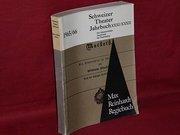 Schweizer Theater-Jahrbuch der Schweizerischen Gesellschaft für Theaterkultur ; 31/32. 1965/66  Regiebuch zu Macbeth